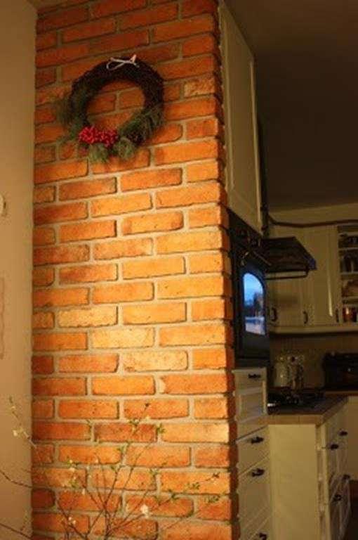 Naożnik ze starej cegły
