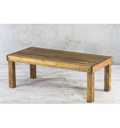Stół drewniany ze starego drewna - rdzeń belki No. 25