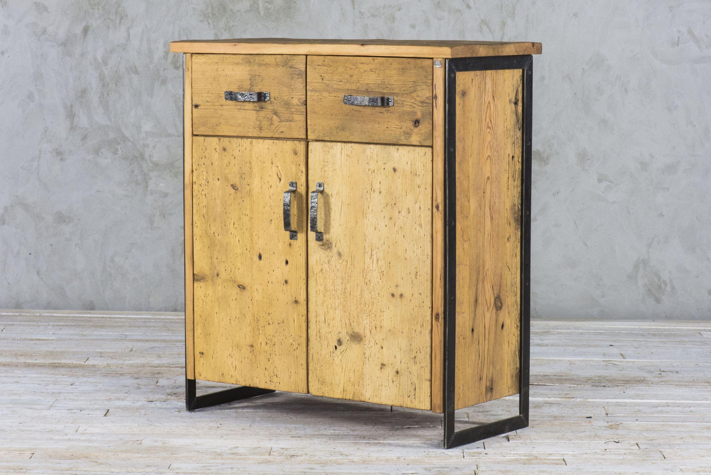 Komoda industrialna - stare drewno No. 313