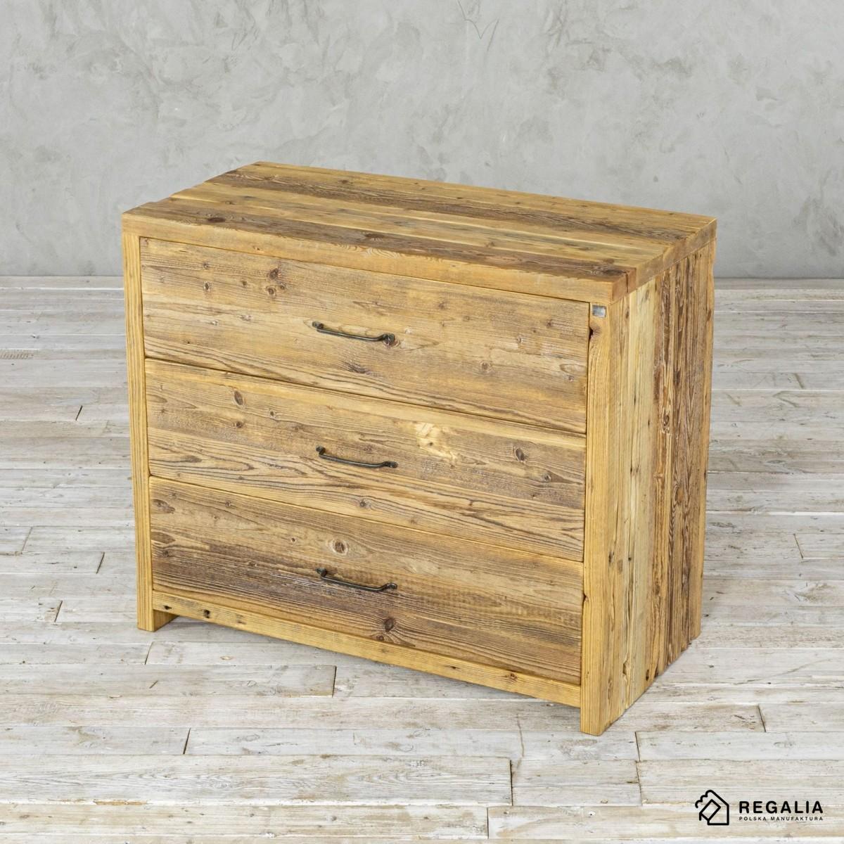 Komoda z szufladami ze starego drewna No. 403