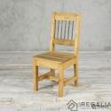 Krzesło ze starego drewna No.404 - stara powierzchnia